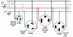 50 Amp Rv Plug Wiring Diagram  2