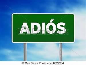 Spanish Adios Clipart
