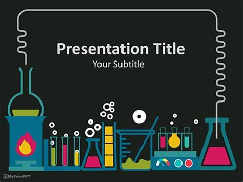 laboratory powerpoint template medical template