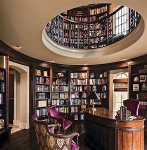 Tuscan-Inspired Home Library Comes Full Circle: A Design ...