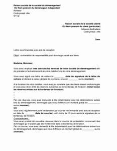 Lettre De Decharge Vente Automobile : lettre de contestation par le d m nageur de sa responsabilit pour dommage caus au mobilier ~ Medecine-chirurgie-esthetiques.com Avis de Voitures
