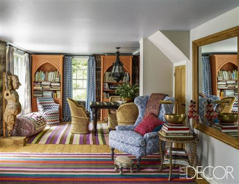 John Robshaw's Colorful Connecticut Home