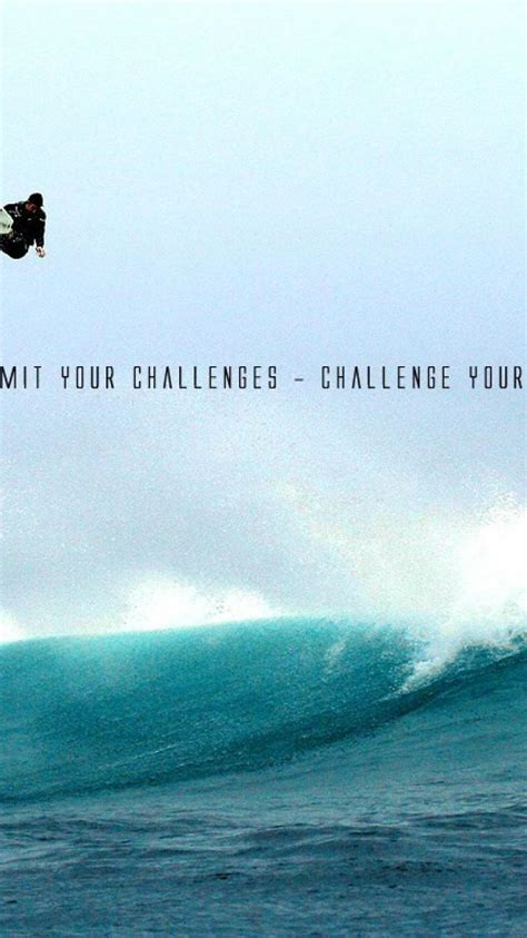 waves quotes surfing inspirational wallpaper