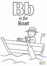 Coloring Boat Row Printable Clipart Letter Template Popular Library sketch template