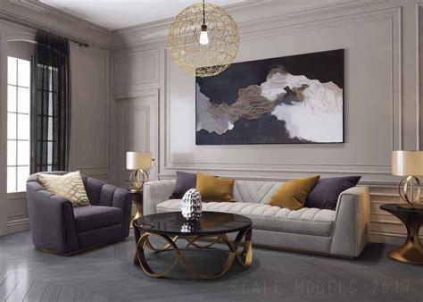 Model Living Room Set by Modelos De Sala De Estar Pequena Simples Decorada 105