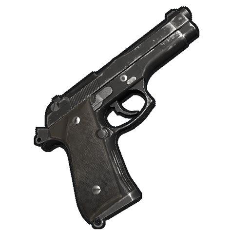 rust pistol m92 wikia game icon wiki server