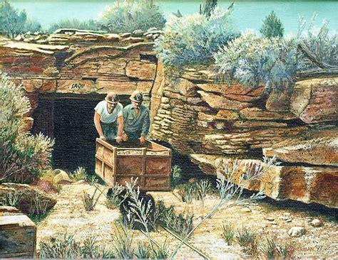 Sage Mine Painting By Lee Bowerman
