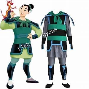 Custume MadeKingdom Hearts 2 Mulan Green Cosplay Costume ...