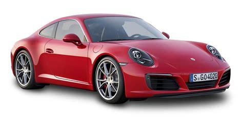 porsche png red porsche 911 carrera car png image pngpix