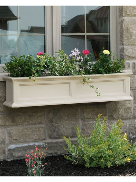 Window Planters by Window Box Fairfield Self Watering Window Flower Boxes