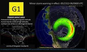 G1-Minor geomagnetic Storm Warning | NOAA / NWS Space ...