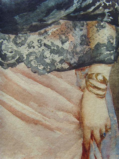 Wearing Mantilla Spanish Lady Portrait of Renaissance