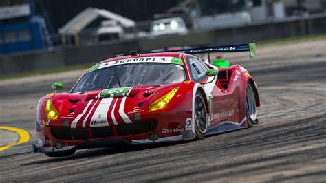wallpaper ferrari  gte sport cars race cars red
