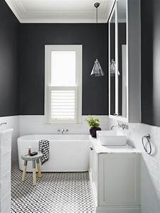 bathroom inspiration trend black and white With 5 inspirations for your black and white bathroom