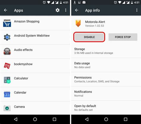 android app settings how to remove bloatware from android devices
