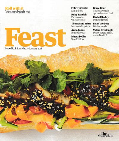 the guardian feast supplement january 27 2018 eat your