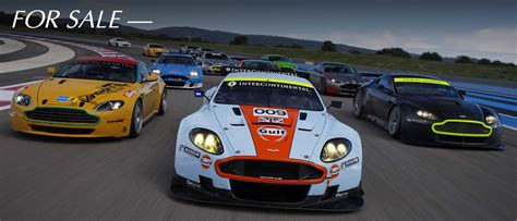 Race Cars For Sale  Aston Martin Racing