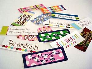 iron on personalized clothing labels With iron on fabric labels for clothing