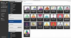 Pyramid Diagram  Five Level Pyramid Model