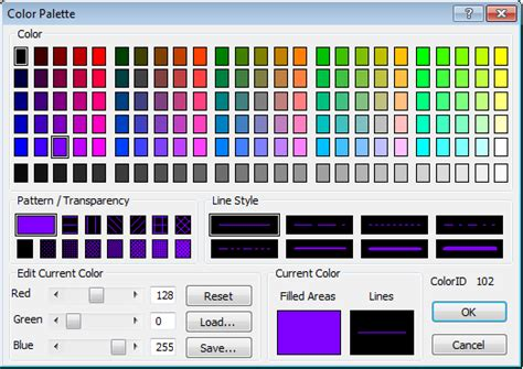 three properties of color assign random property colors cadalyst