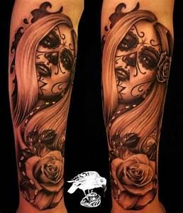 Tete De Mort Mexicaine Femme : photos tatouage mexicain ~ Melissatoandfro.com Idées de Décoration