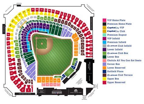 ranger cuisine ballpark in arlington seating chart detailed napma