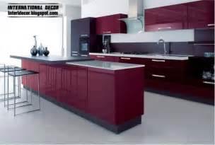 kitchens ideas 2014 purple kitchen interior design and contemporary kitchen design 2014