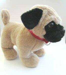 build  bear workshop plush pug stuffed puppy dog tan black  retired ebay