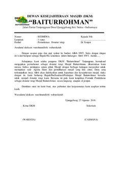 contoh surat permohonan donatur tetap tpq contoh surat berhenti kerja bahasa melayu resign