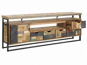 Tv Regal Holz : tv regal holz trendy lowboard sandeiche fmd vibio holz modern with tv regal holz top ~ Indierocktalk.com Haus und Dekorationen