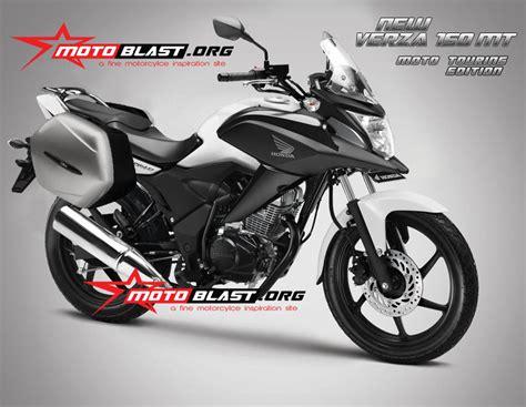 Modification Motor Touring by Modif Honda Verza 150 Konsep Moto Touring Motoblast