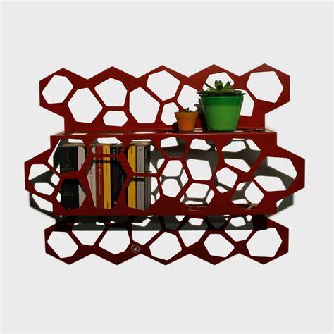 libreria mensola mensola libreria hexagon