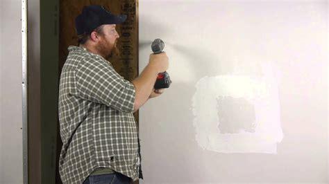 install  drilling drywall anchors wall repair