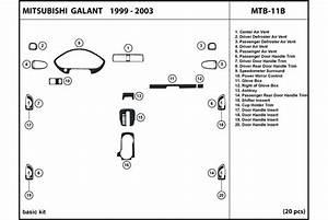 Dl Auto U00ae Mitsubishi Galant 1999