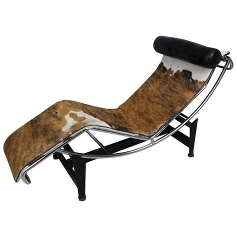 chaise lc4 le corbusier lc4 chaise lounge manufactured by cassina at