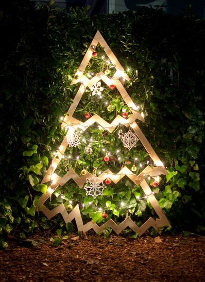 diy outdoor christmas tree christmas