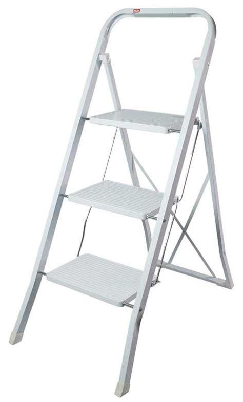scaletta sgabello sgabello scaletta in acciaio 3 gradini 1500144 valex