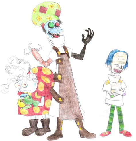 Evil Dentist And Minions By Violeta960 On Deviantart