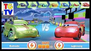 Cars Fast As Lightning Neon Racing Komodo 56 Vs