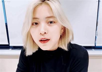 Ryujin Itzy Visual Vlive Fall Blonde Crazy