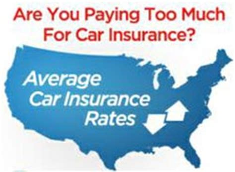 average car insurance rates  state car insurance