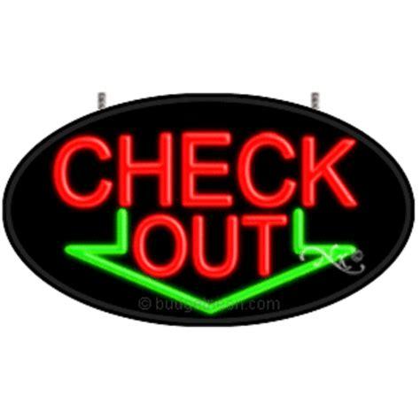 Check Out Flashing Neon Sign ($26999) Budgetneoncom