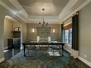Molding design for ceiling dining room traditional with