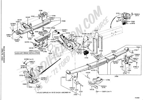 Ford F 350 Part Diagram by Ford Truck Technical Drawings And Schematics Section A