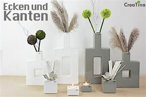 Deko Für Ecken : creatina vasen und teellichthalter aus keramik von bob ~ Michelbontemps.com Haus und Dekorationen