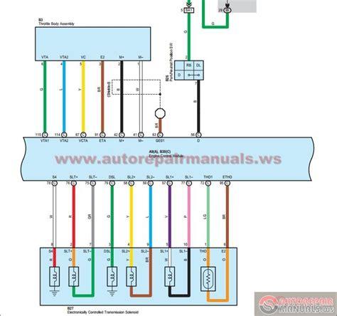 toyota rav  electrical wiring diagrams ewd auto
