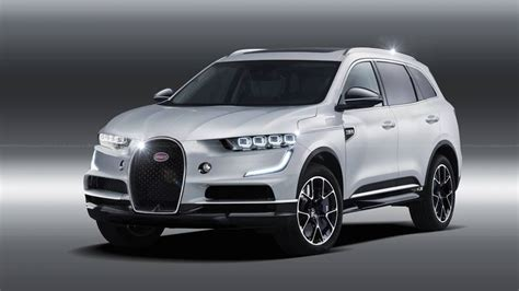 Bugatti Suv Rendering Previews The Inevitable