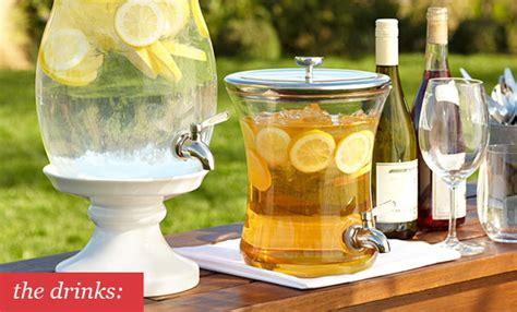 summer drink ideas backyard party plan epicurious com