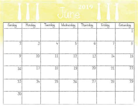watercolor june  calendar june calendar printable