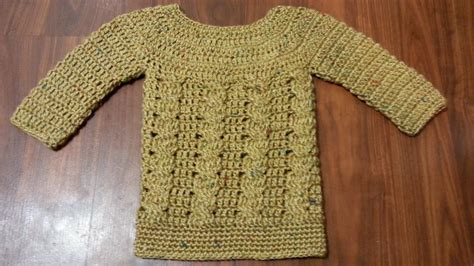 how to crochet a sweater crochet cable sweater crochet and knit